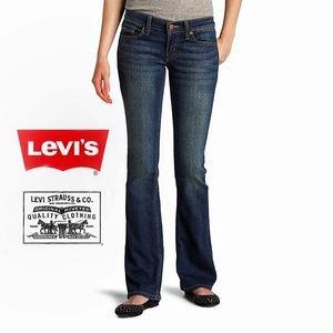 Levi's | 524 Too Superlow Bootcut Blue Jeans | 5M